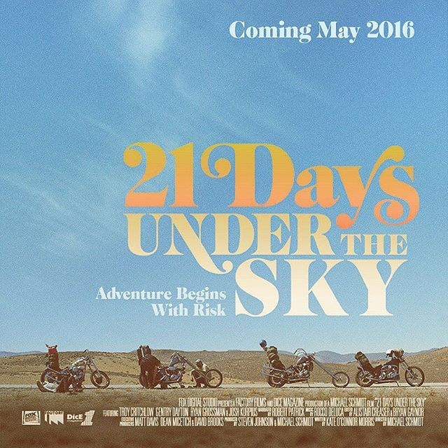Poster film 21 days under the sky